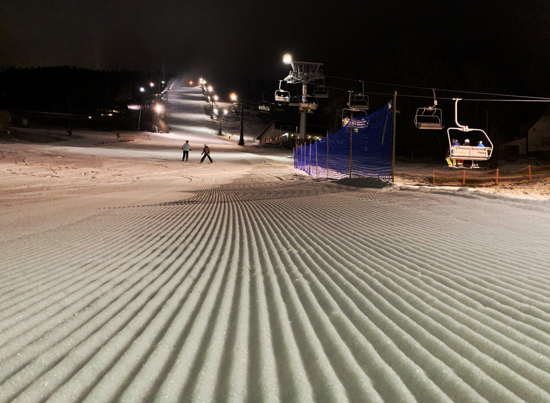 Tip na večerní lyžování: Benecko – vzdušné lázně v Krkonoších