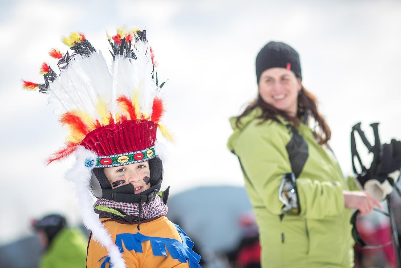 Skiareál Lipno ožije karnevalem